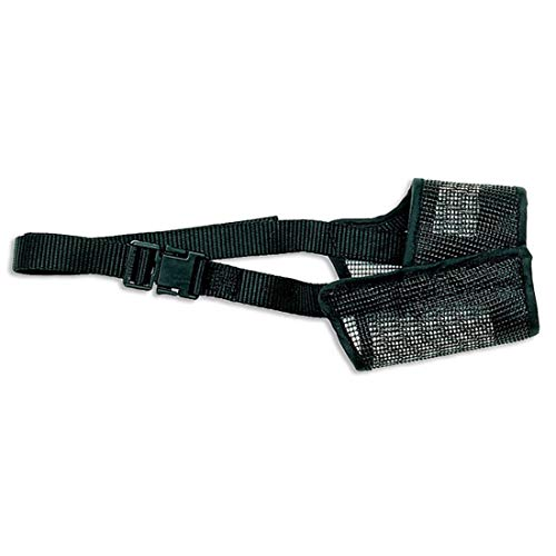 Coastal - Best Fit - Adjustable Mesh Dog Muzzle,...