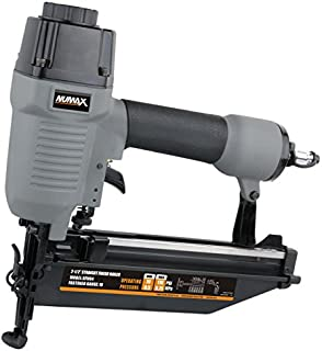 NuMax SFN64 Straight Finish Nailer 16 Gauge Ergonomic & Lightweight Pneumatic Nail Gun with Depth Adjust & No-Mar Tip