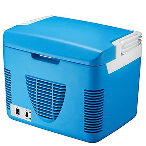 Refrigerador de automóviles y yate, refrigerador de control de temperatura inteligente, refrigerador de control remoto de enfriamiento rápido, 6-10L, fuente de alimentación de voltaje de coche 12V/24V