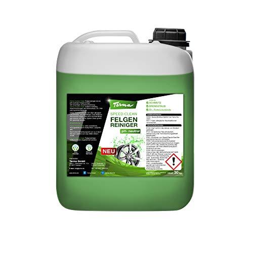 Terma Speed Clean Felgenreiniger, pH-neutrale f. Alufelgen Chromfelgen Stahlfelgen (5 Liter)