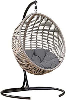 Amazon Com Best Egg Shaped Outdoor Swing Chair Patio