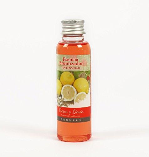 Esencia para Quemadores Y Brumizadores Alta Intensidad 60 ml Alta Intensidad Aroma Fresa y Limón