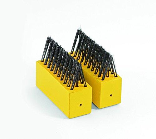 WOLF-Garten - Unkrautbürste Doppelpack multi-star® FB-ME NEU2018, Rot, 17x12x5 cm; 73AZB001650