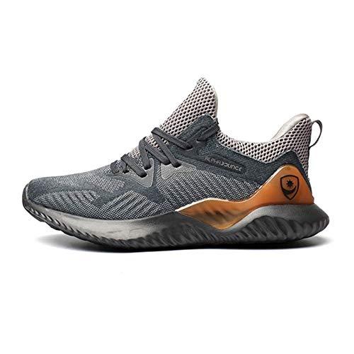 JUST ALONE Zapatillas de Deporte Hombres Running Zapatillas Casual Correr Aire Libre Sneakers Antideslizante Zapatos para Correr y Asfalto Aire Libre y Deportes Calzado Ligero Transpirable Sneakers