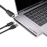 MINIX NEO SD4 USB-C Multiport 480GB SSD Storage Hub for Apple MacBook Air/Pro | HDMI 4K@60Hz | Thunderbolt 3 | USB 3.0,Sold by MINIX Technology Limited.(Space Gray)