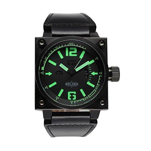 Cofanetto orologio Welder Uomo K-23modello Data Nero e...