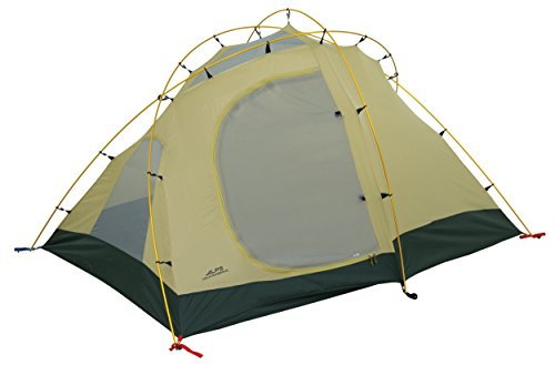 ALPS Mountaineering Extreme 3 Outfitter Tent Tan/Green/Tan, 96' L x 80' W x 50' H