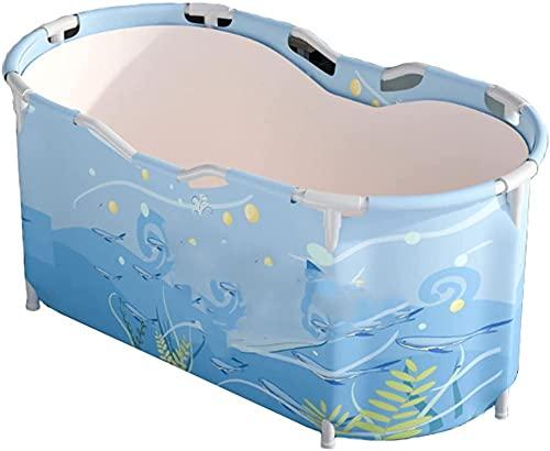 GL-GDD Bañera plegable portátil Bañera de inmersión ecológica Bañera de ducha engrosamiento con espuma térmica para mantener la temperatura-A