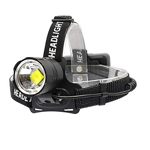 WESLITE Stirnlampe LED Wiederaufladbar, XHP70.2 Stirnlampe USB Super Hell 10000 Lumens Leistungsstark Scheinwerfer Zoombar Kopflampe Stirnlampe für Arbeit Jagd Konstruktion mit 3 Batterien