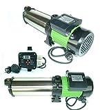 !!Top!! INOX Gartenpumpe Kreiselpumpe HMC 220SC 2200 Watt Förderhöhe: 110 m Max. Druck: 11 bar Max. Fördermenge: 6600 L/h - 110 L/min. + Steuerung CH20 bis 2200 Watt inkl. Trockenlaufschutz.