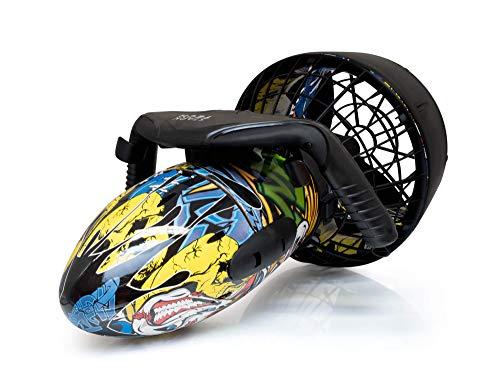 SeaScooter - Patinete sumergible (300 W, hasta 6 km/h, estilo graffiti rápido)