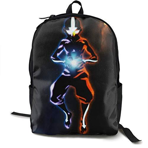 Backpacks,Avatar The Last Legend Travel Bags, Elegantes Mochilas para Estudiantes para El Regreso A La Escuela,32cm(W) x42cm(H)