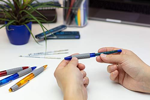 Schneider Slider 755 Medium Ballpoint Pen Refill, 1.0mm, Red Ink, Box of 10 (175602) Photo #5
