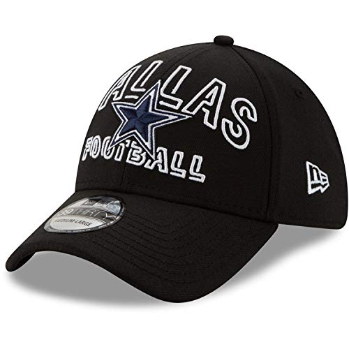 New Era – NFL Dallas Cowboys 2020 Draft Alternative 39Thirty Stretch Cap – Negro Negro Large/X-Large
