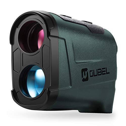 OUBEL Telemetro da Golf/Telemetro da Caccia, Telemetro Laser da 800 Metri con Funzione di calcolo della Pendenza, Blocco dell'asta della Bandiera, Vibrazione, Funzione di misurazione Continua