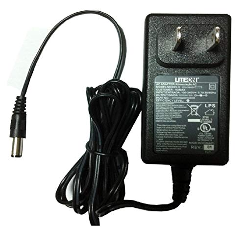 UpBright [UL Listed] 12V AC/DC Adapter Replacement for AT&T 3A-153WU12 Linear Western Digital WD My Cloud WDBCTL0020HWT WDBCTL0030HWT WDBCTL0040HWT 2TB 3TB 4TB Storage NAS APD WA-15F12U 12VDC Power
