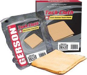 Gerson 20001R Tack Cloth Light Tack Economy (20 x 12) Mesh Orange Cotton