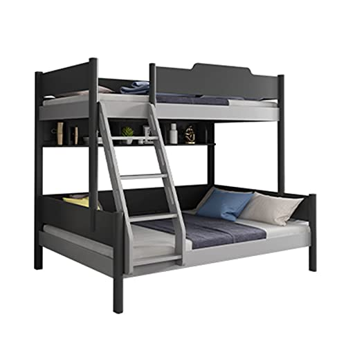 HXXXIN Bunk Bed Simple Small Apartment Upper And Lower Children's Bed Modern Household Bunk Bed Multi-Function Storage Child And Mother Bed