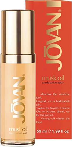 Jovan Musk Oil, Eau de Toilette, 1er Pack (1 x 59ml)