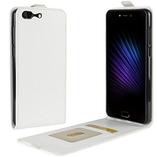 Litao-Case CN Hülle für Leagoo T5 hülle Flip Leder + TPU Silikon Fixierh Schutzhülle Case 4