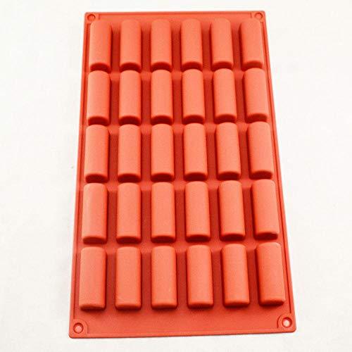 Chocolade & Zoete vormen 30 Grid Siliconen ijs Grid Chocolade Dessert Mold Magnetron Oven Koelkast Universele Cake Bakplaat