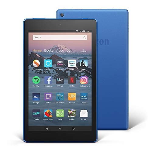 Fire HD 8 Tablet, 32 GB, Blue—with Ads (Previous Generation - 8th)