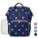 Diaper Backpack Baby Nappy Bag - Travel&Outdoor Organizer Water-Resistant Multi-Function Maternity Bag for Mon Daddy