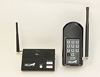 Mighty Mule MM136 Wireless Intercom System, Black