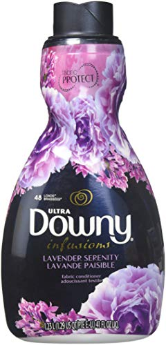 Downy Ultra Infusions Liquid Fabric Softener, Lavender Serenity, 41 Ounce (Pack of 2)
