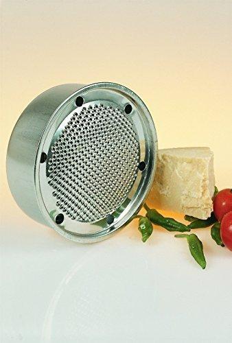 100% acciaio inossidabile Altezza = 7cm Diametro = 19cm Made in Italy
