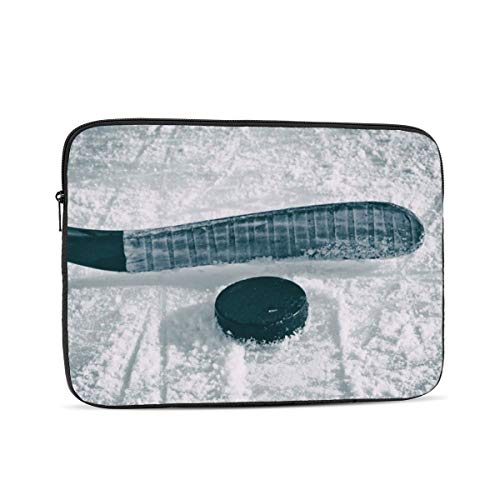 NFDF Ice Hockey Laptop Sleeve Bag - Evecase 12 Inch Neoprene Universal Sleeve Zipper Protective Cover Case for Notebook