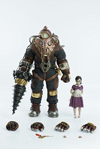 Bioshock Big Daddy Costumes Amazon - ThreeZero Bioshock: Subject Delta & Little