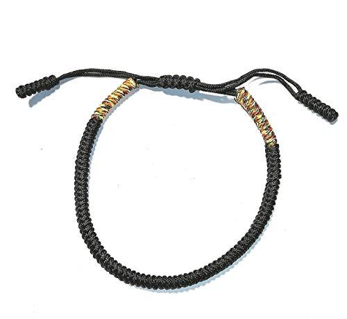 Enjoy#Yourself handgefertigtes tibetisch-buddhistisches Glücksbringer-Armband