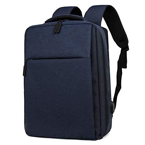 Mochila para portátil, Mochila para computadora/Bolsa Escolar con Puerto de Carga USB para Viajes/Negocios/Universidad/Mujeres/Hombres