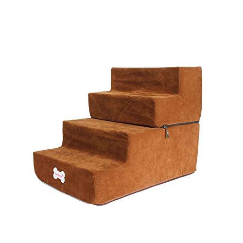 Große Haustiertreppe Hunde Treppen Stufen 4-Dog Step Assembly Staircase Tragbare Haustiertreppen Abnehmbare Waschbare Treppen Zum Klettern Von Hunden Und Katzen