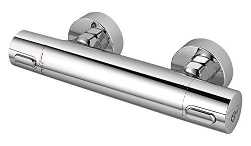 Ideal Standard A4618AA Ceratherm 100 New Miscelatore termostatico per esterno doccia, cromato