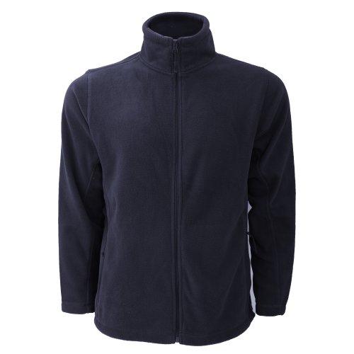 Jerzees Colours Russell Veste Polaire à Fermeture zippée - Homme (4XL) (Bleu Marine)