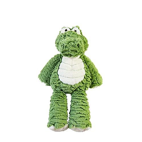 Juguetes de peluche de animales de peluche, lindo juguete de dinosaurio, suave Plushies para niñas muñeca de felpa regalos para niños niños bebés niños pequeños (verde, 36 cm)