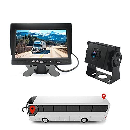 YUYAN 24V AHD Camión Reversing Image Recorder Matte Night Vision HD Cámara Invertir Imagen Todo en Uno Máquina Fácil de instalar Conexión con Cable