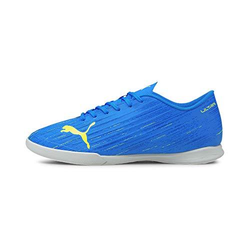 Puma Ultra 4.2 IT, Zapatillas de Futsal Hombre, Nrgy Blue Yellow Alerta, 40.5 EU