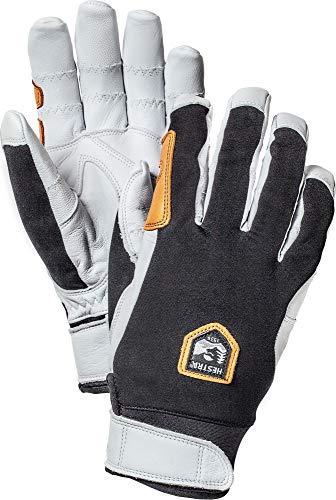 Hestra Ergo Grip Active 5-Finger-Handschuh für Herren, Unisex, 32950, Schwarz/Weiß, 6