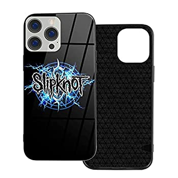 Sl-ipknot Pop Bands Heavy Metal iPhone 12 Case,Organic Glass+TPU Soft Edge Scratch Antiskid Proof Cover for iPhone 12/12 Pro/12mini/12Pro Max