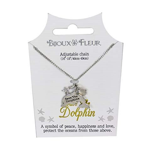Bijoux Fleur Collar de delfín – Salve el delfín
