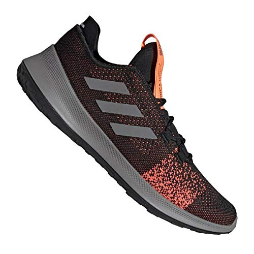 adidas SENSEBOUNCE + Ace M, Zapatillas de Running Hombre, Core Black/Grey Three F17/SIGNAL Coral, 45 1/3 EU