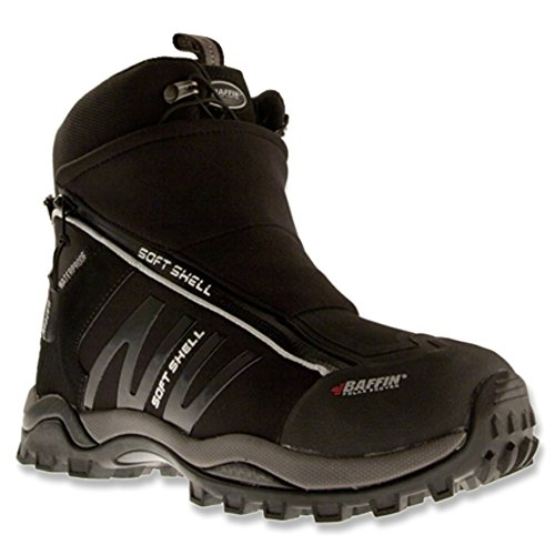 Baffin Women's Atomic Trekking Boot,Black/Black,11 M US