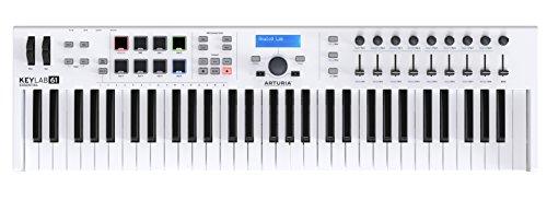 Arturia Keylab Essential 61 Keyboard - White