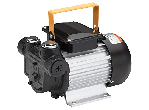 BLUREA Dieselpumpe selbstansaugend, 60l/min, 230V, 370W, Ölpumpe zum Befüllen von Nutzfahrzeugen oder als Ölabsaugpumpe zum Entleeren von Öltanks