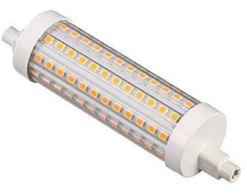 Xavax LED Leuchtmittel (125 W, R7S, 2000 lm, 25000 h, warmweiß, LED 230 V, Halogenröhre einstellbar) matt / transparent