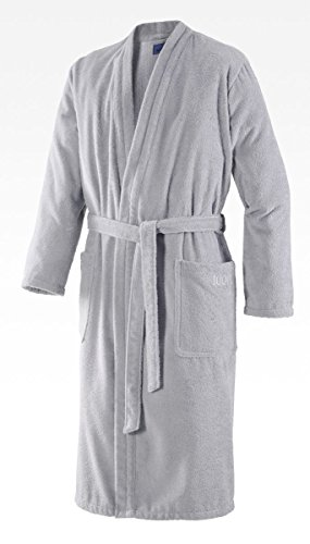Joop! Herren Kimono-Bademantel Classic | 1618 Silber - 54/56