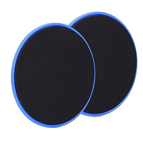 2pcs Ejercicio Deslizante Deslizante Disco Fitness Core Control deslizante con plástico ABS ingeniero Plástico Deporte Entrenamiento corporal completo para alfombras o pisos de madera dura